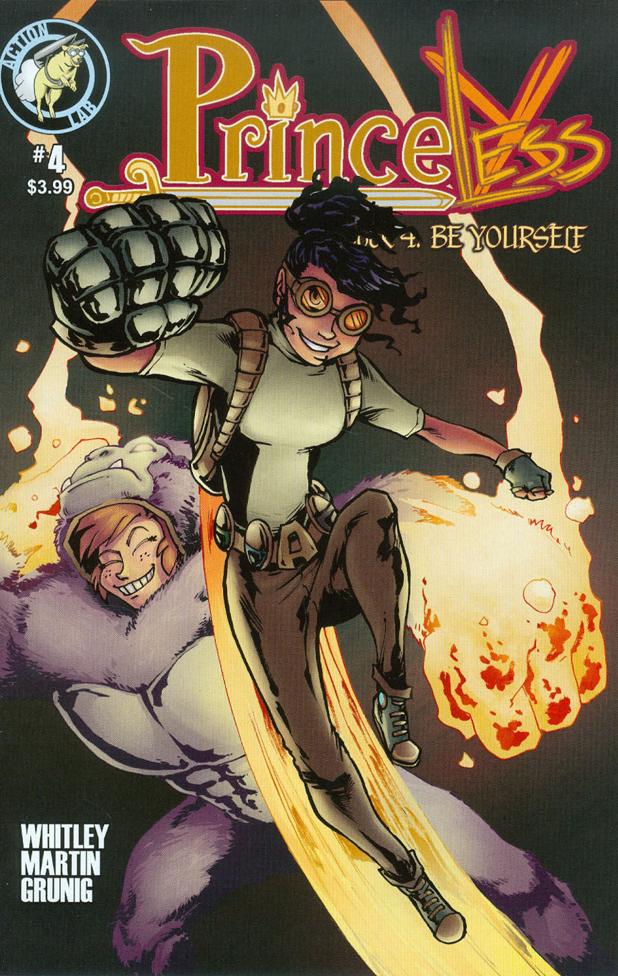 Princeless Be Yourself #4 Cover B Variant Emily Martin Halloween Cover
