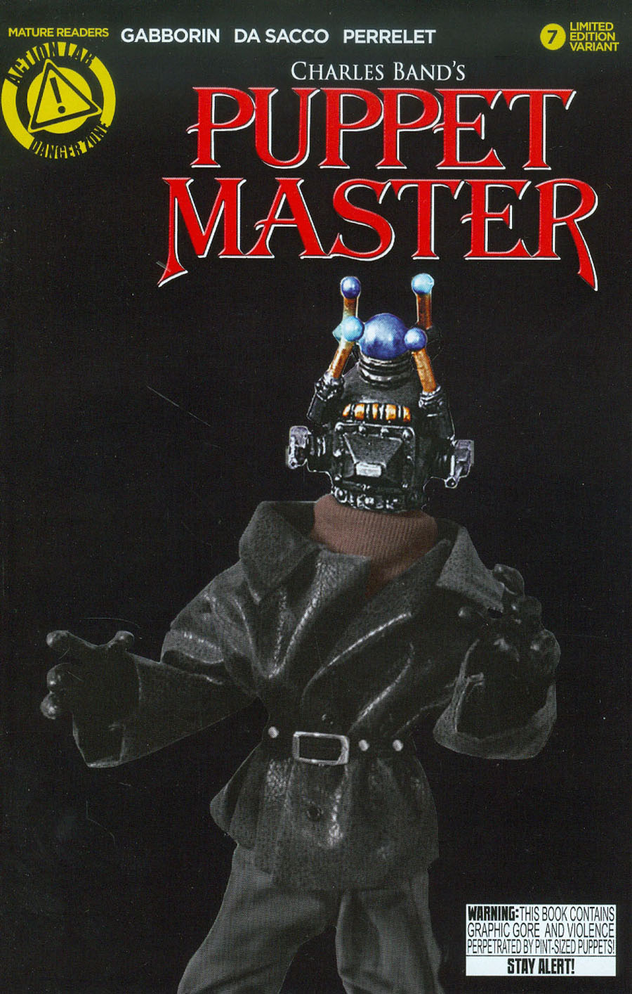 Puppet Master #7 Cover D Variant Decapitron Photo Cover