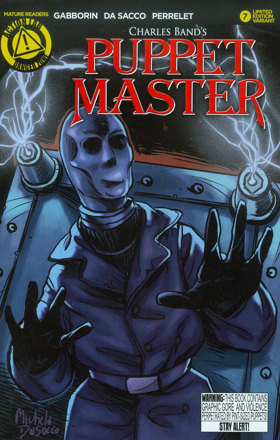 Puppet Master #7 Cover B Variant Decapitron Color Cover