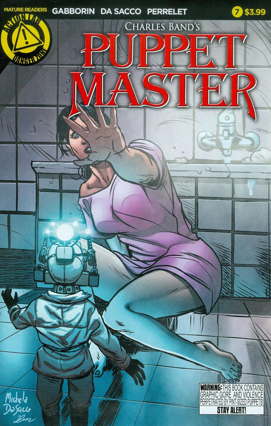 Puppet Master #7 Cover A Regular Michela Da Sacco Cover