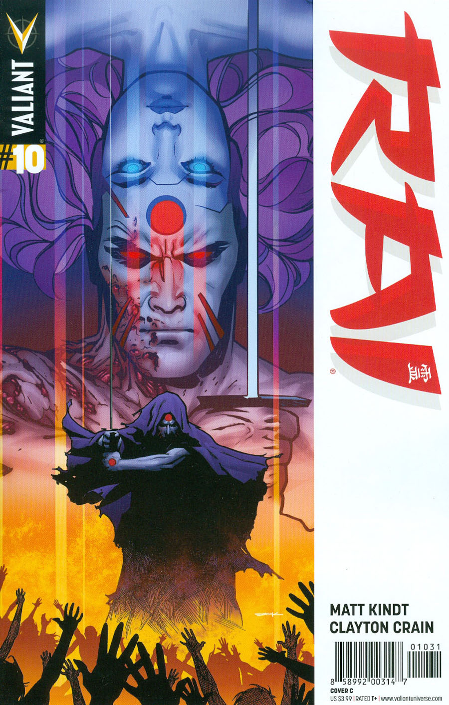 Rai Vol 2 #10 Cover C Variant Ryan Sook Cover