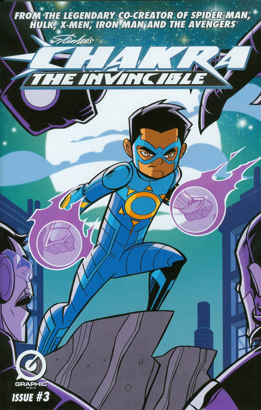 Stan Lees Chakra The Invincible #3