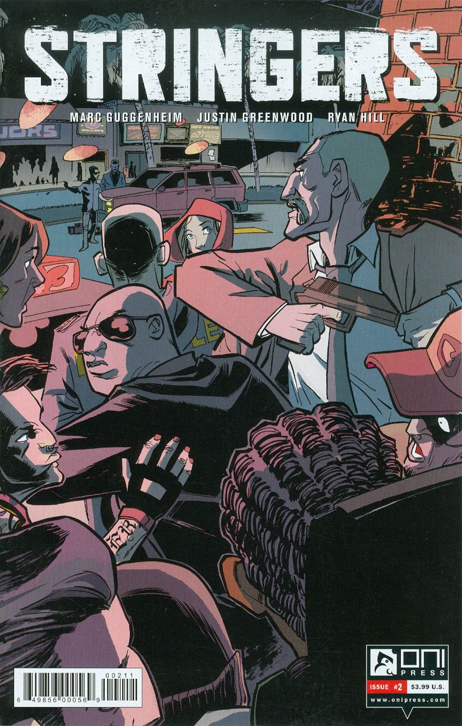 Stringers #2 Cover A Regular Justin Greenwood Cover