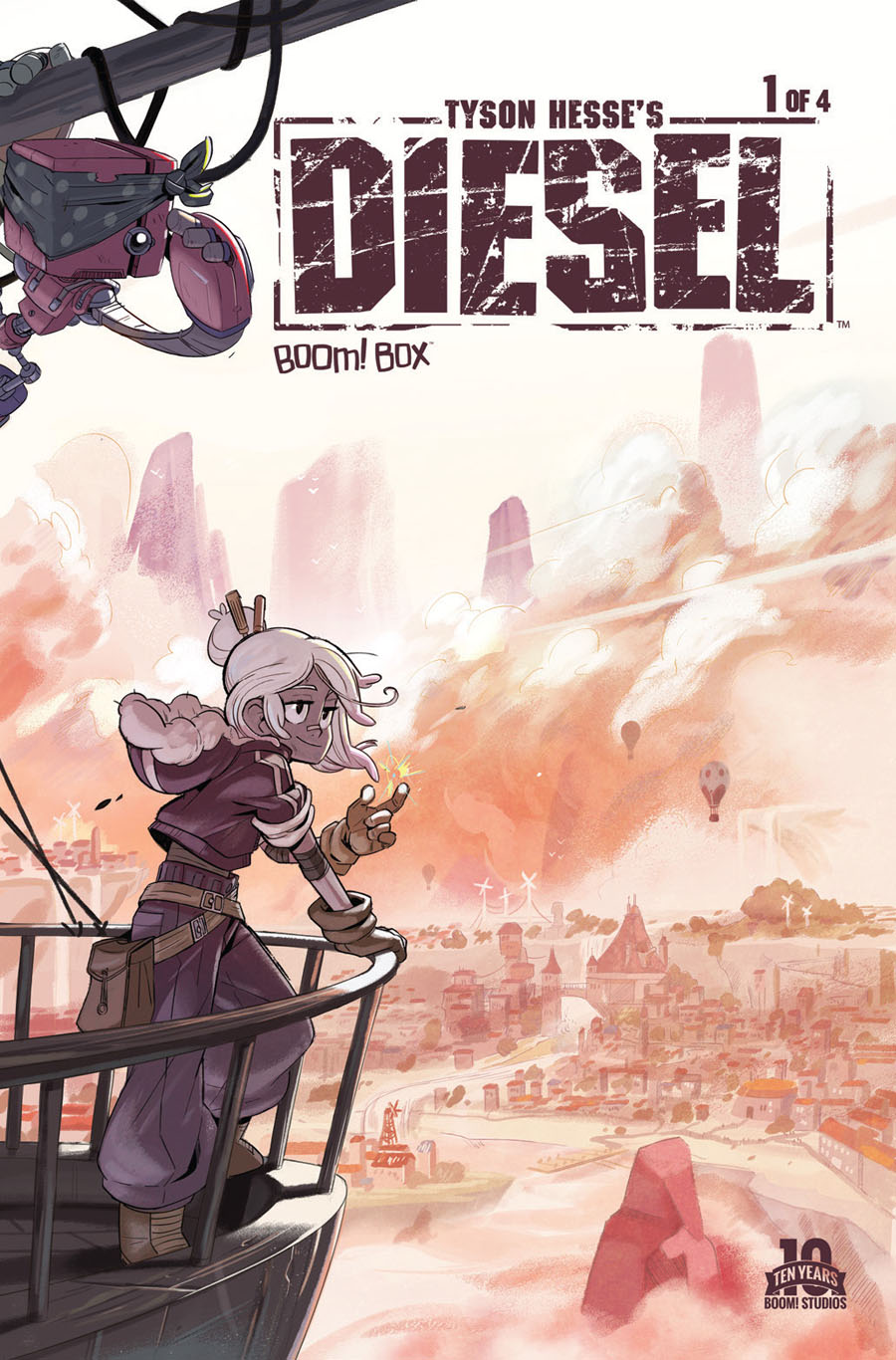 Tyson Hesses Diesel #1 Cover A Regular Tyson Hesse Cover