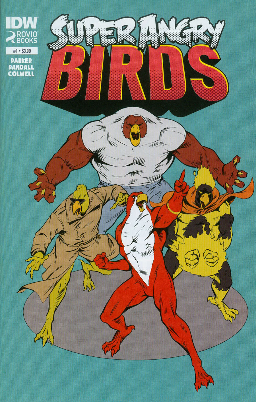 Angry Birds Super Angry Birds #1 Cover A Regular Ron Randall Cover