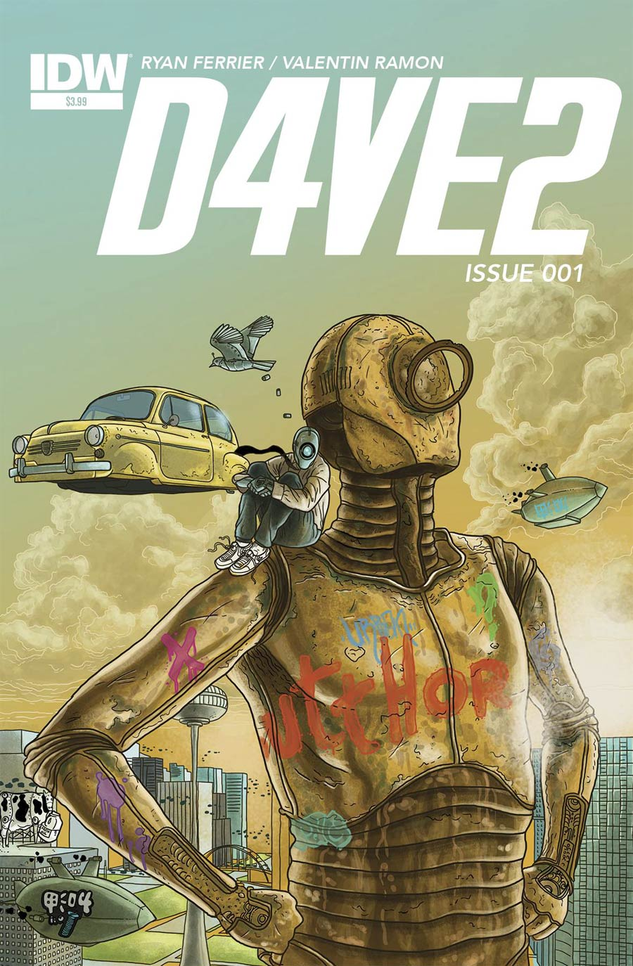 D4VE2 #1 Cover A Regular Valentin Ramon Cover