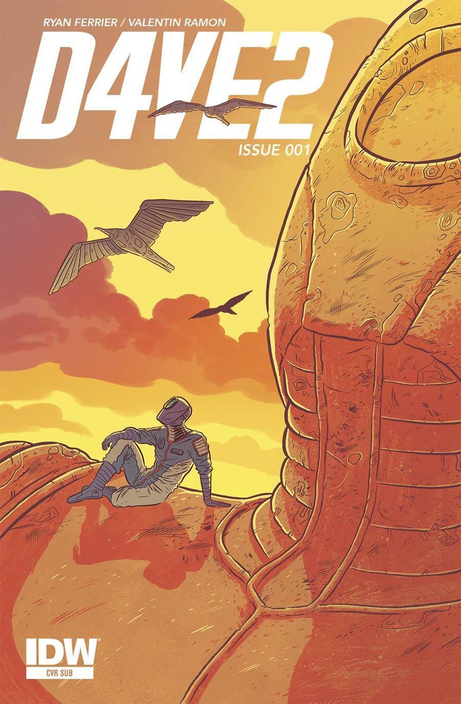 D4VE2 #1 Cover B Variant Logan Faerber Subscription Cover