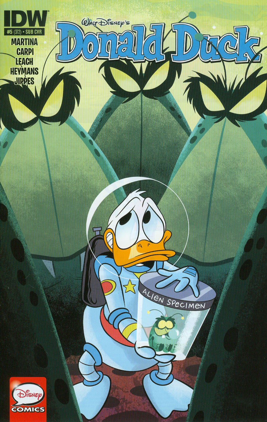 Donald Duck Vol 2 #5 Cover B Variant Derek Charm Subscription Cover