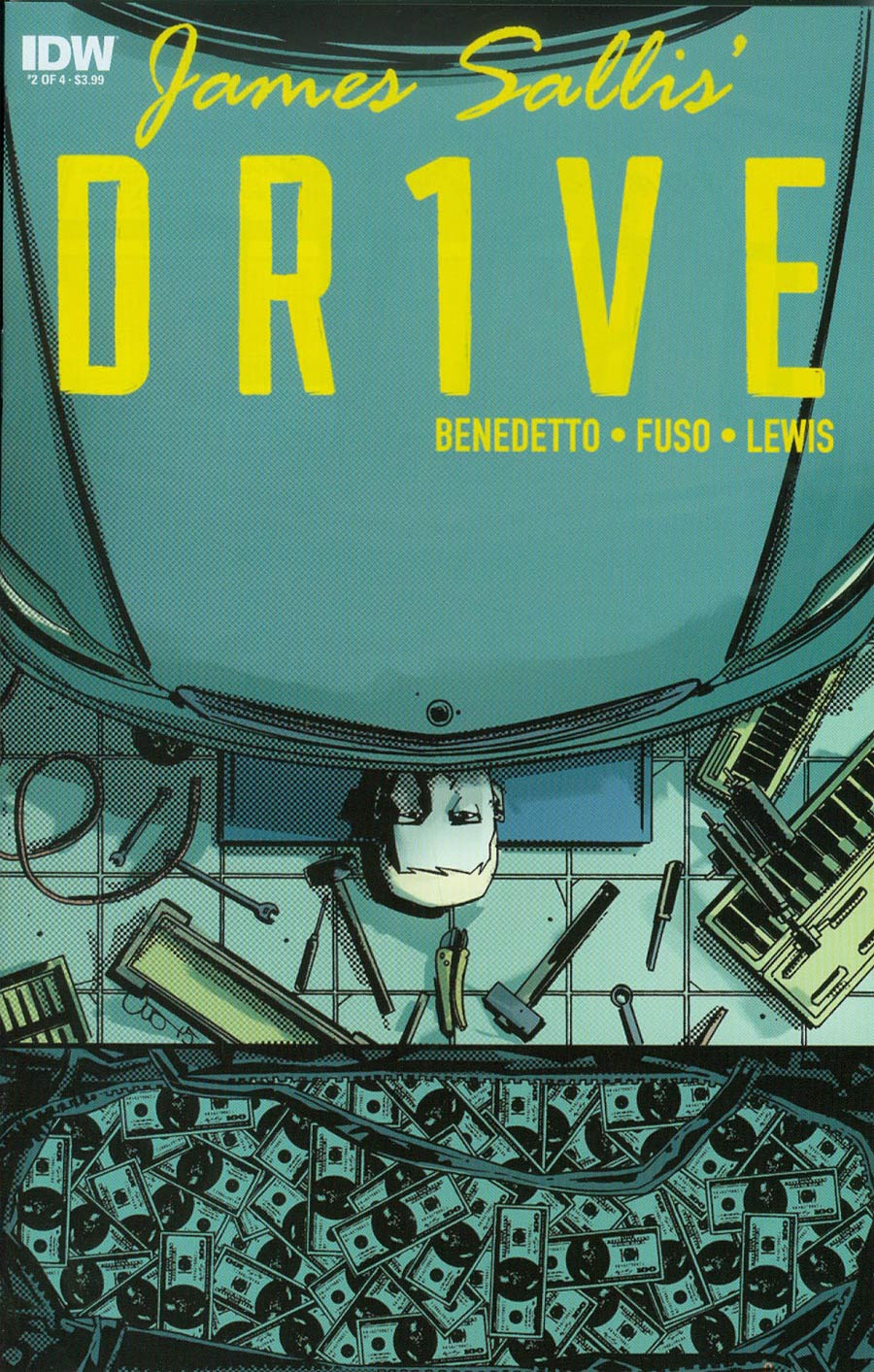 Drive #2 Cover A Regular Antonio Fuso Cover