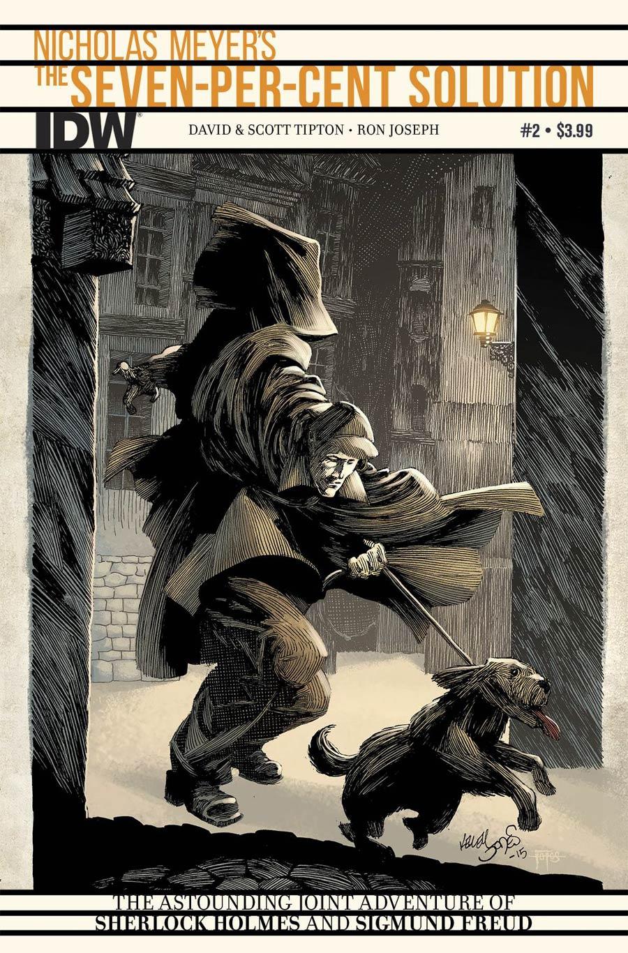 Sherlock Holmes Seven-Per-Cent Solution #2 Cover A Regular Kelly Jones Cover