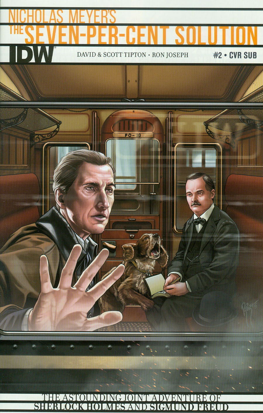Sherlock Holmes Seven-Per-Cent Solution #2 Cover B Variant Juan Carlos Ruiz Subscription Cover