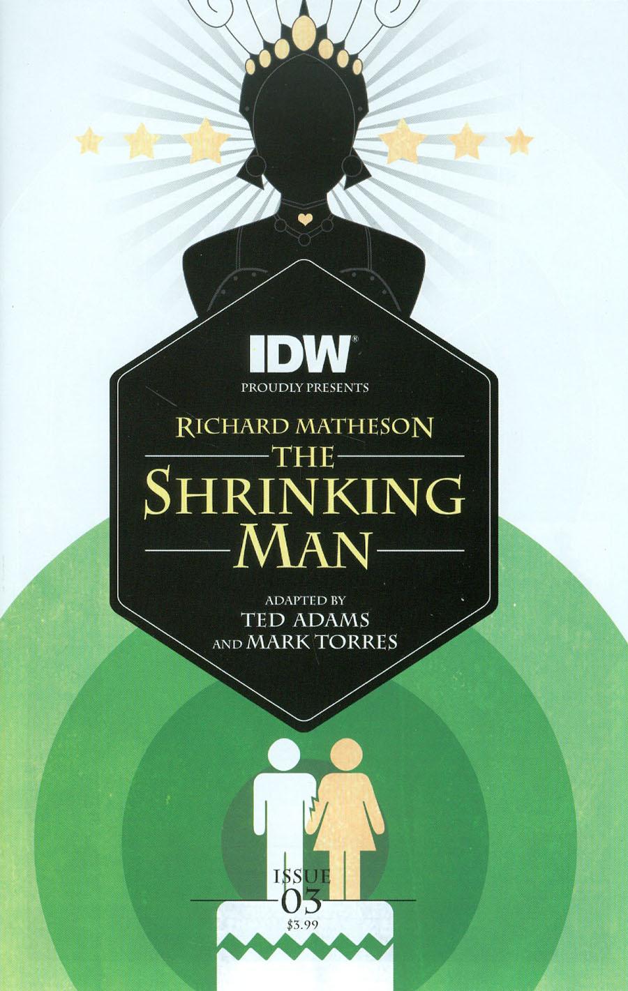 Shrinking Man #3 Cover A Regular Mark Torres Cover