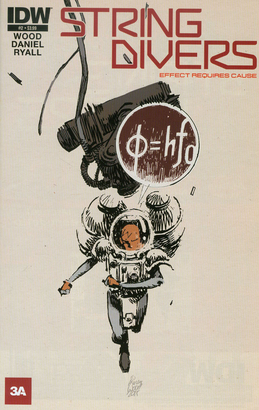 String Divers #2 Cover A Regular Ashley Wood Cover