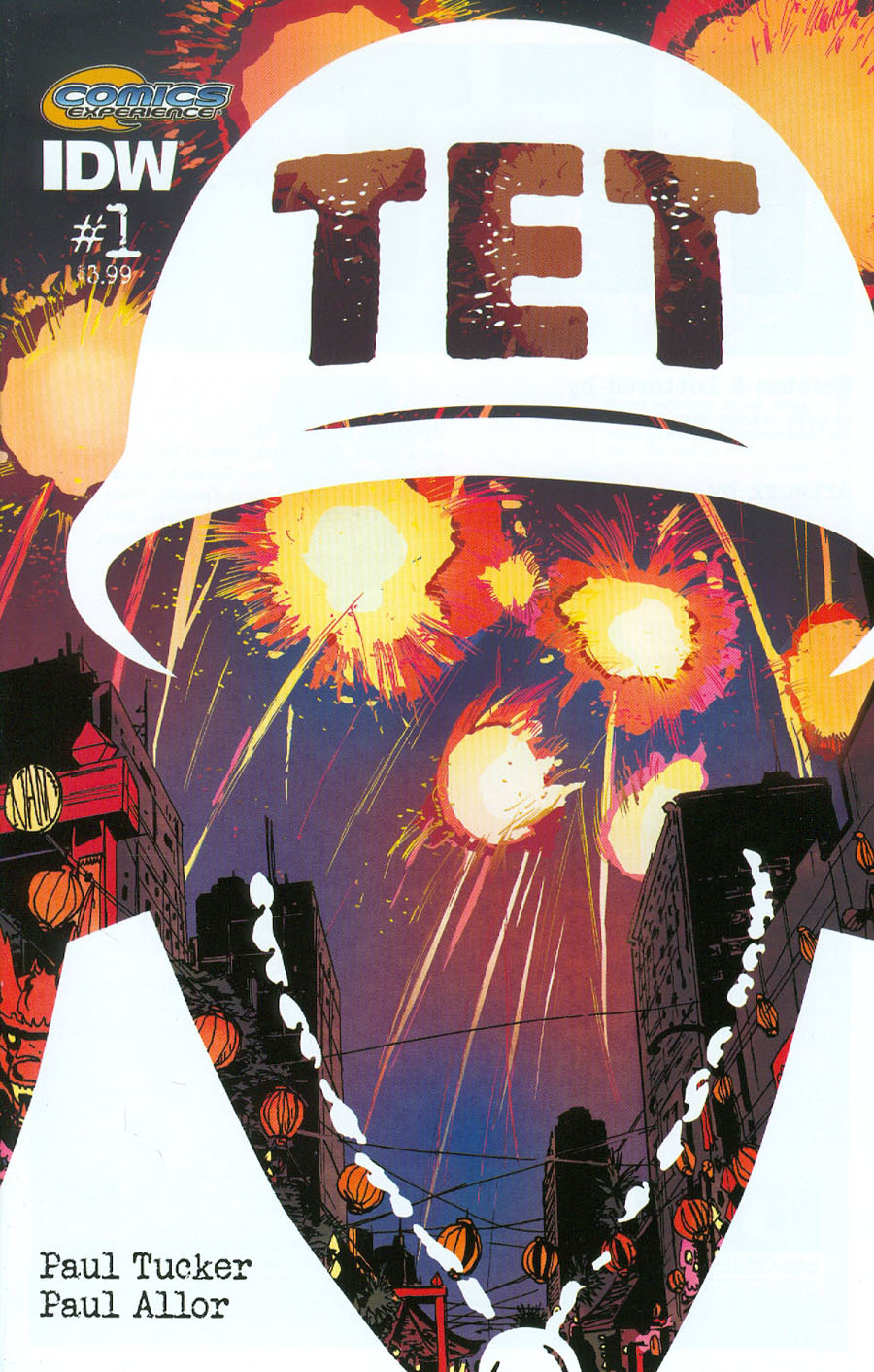 Tet #1 Cover A Regular Paul Tucker Cover