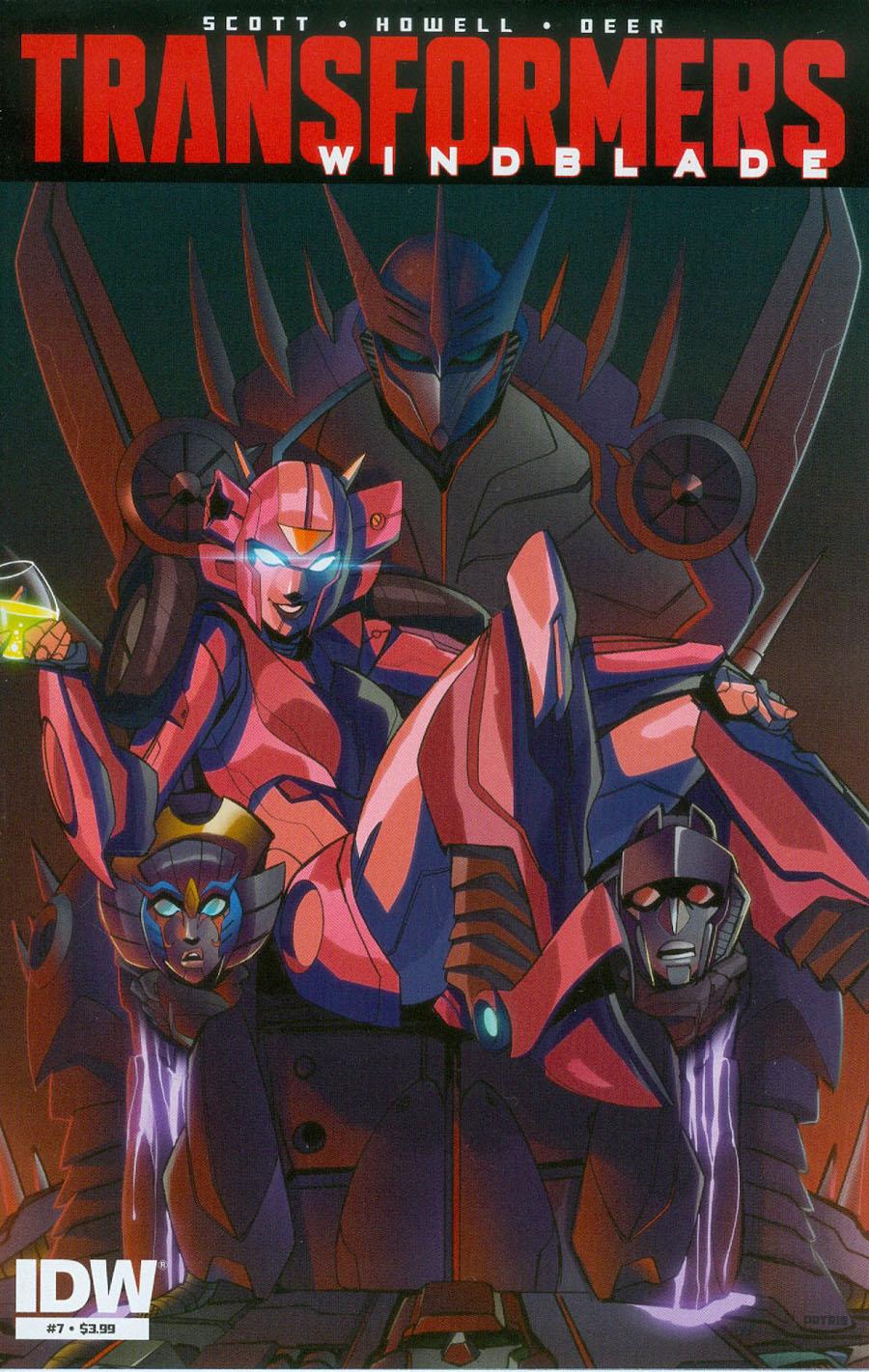 Transformers Windblade Vol 2 #7 Cover A Regular Priscilla Tramontano Cover