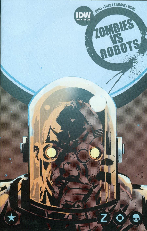 Zombies vs Robots Vol 2 #9 Cover B Variant Antonio Fuso Subscription Cover