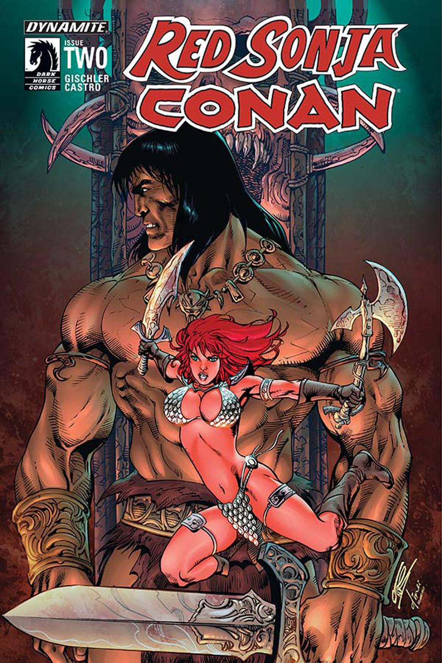 Red Sonja Conan #2 Cover B Variant Roberto Castro Subscription Cover