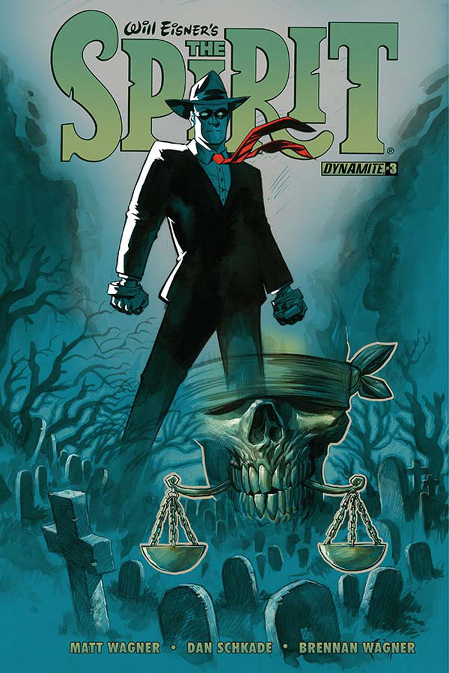 Will Eisners Spirit #3 Cover A Regular Eric Powell Cover