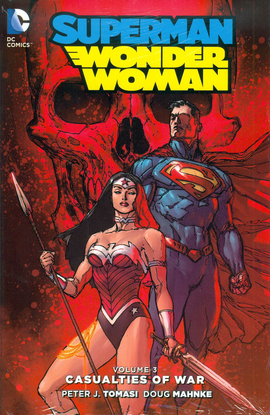Superman Wonder Woman (New 52) Vol 3 Casualties Of War HC