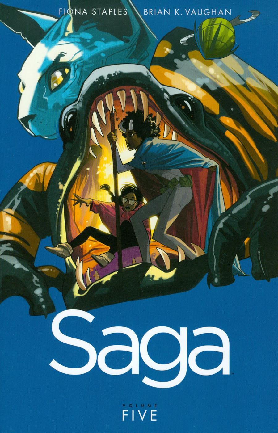 Saga Vol 5 TP