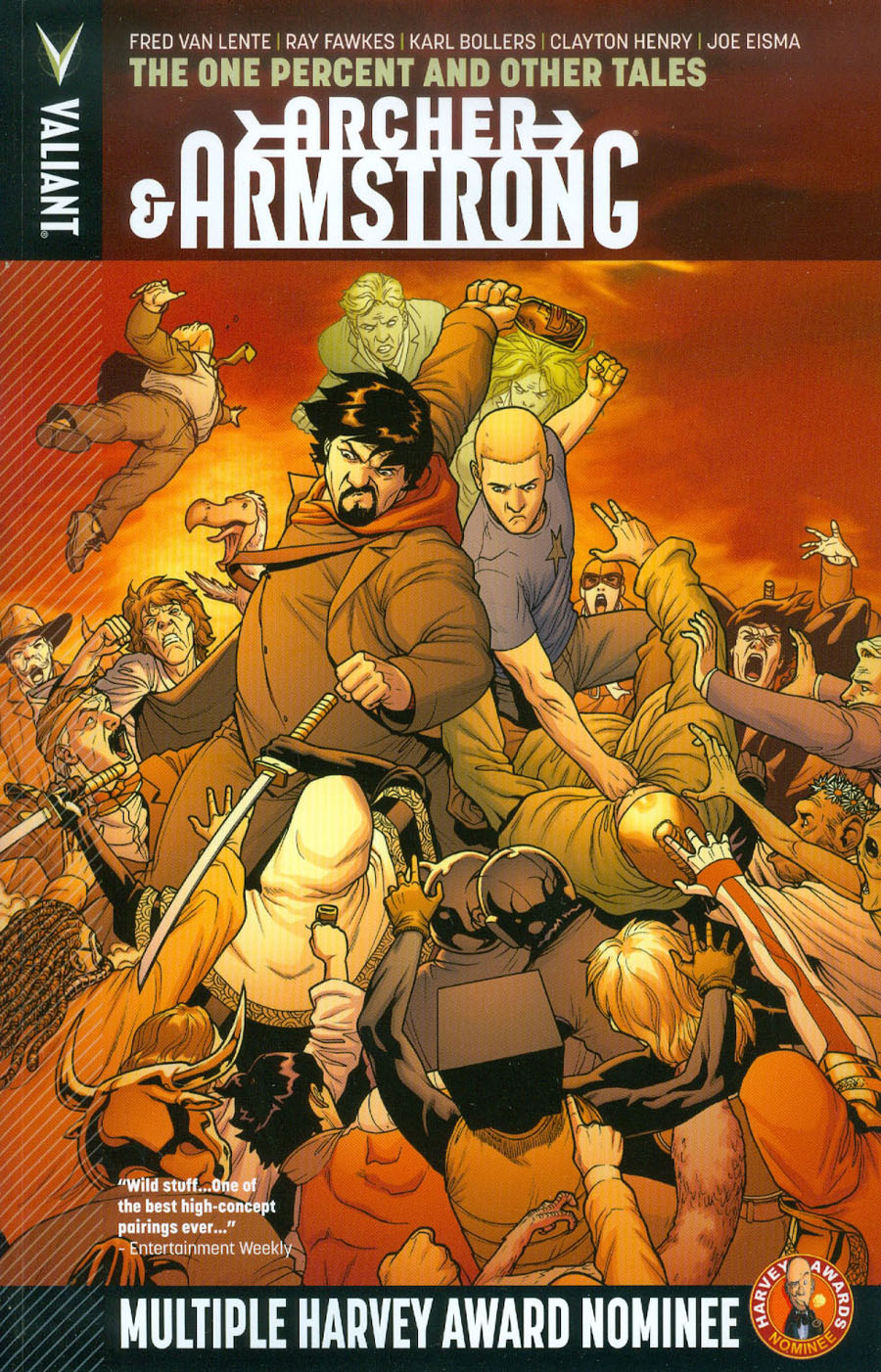 Archer & Armstrong Vol 7 One Percent And Other Tales TP