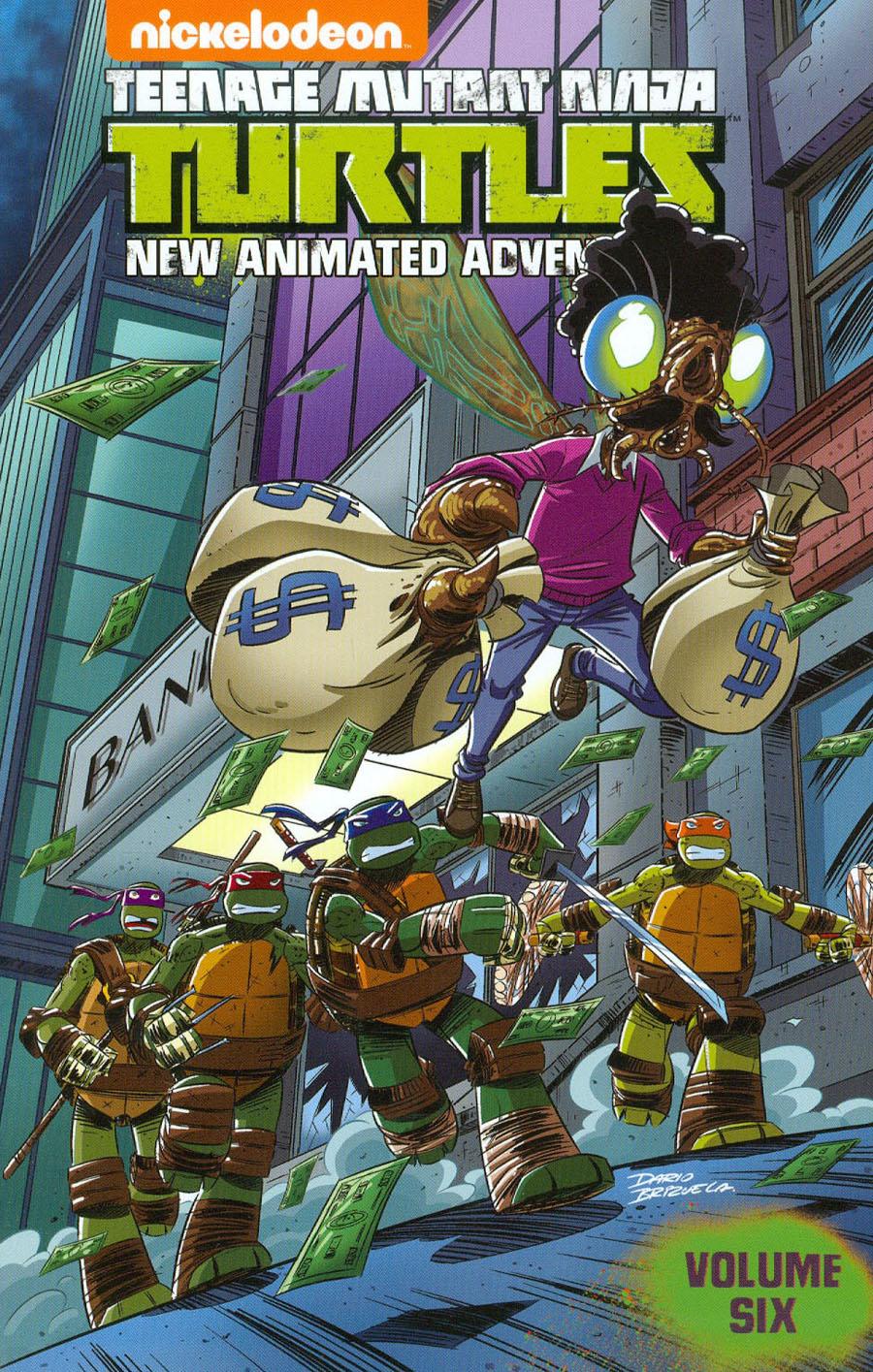 Teenage Mutant Ninja Turtles New Animated Adventures Vol 6 TP