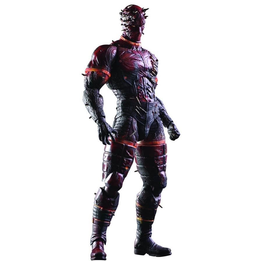 Metal Gear Solid V Phantom Pain Play Arts Kai - Man On Fire Action Figure