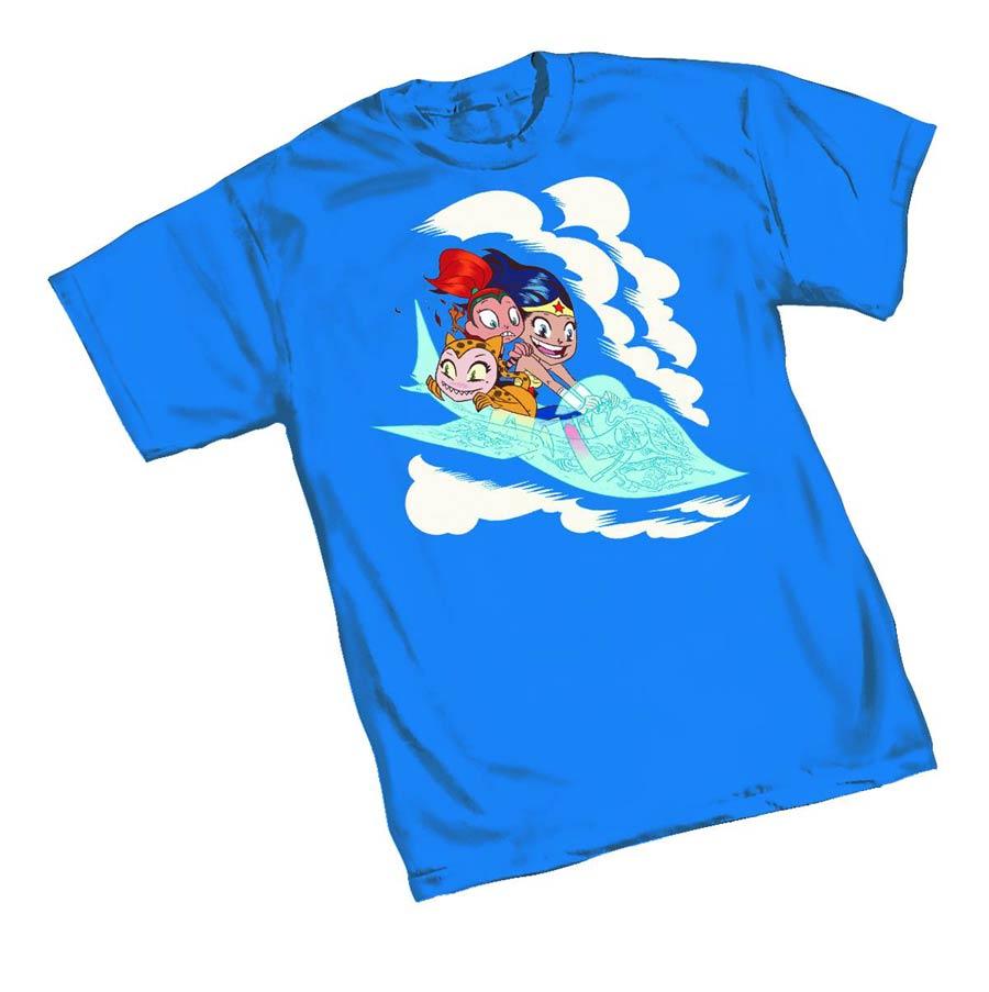 Wonder Woman Jet T-Shirt Large
