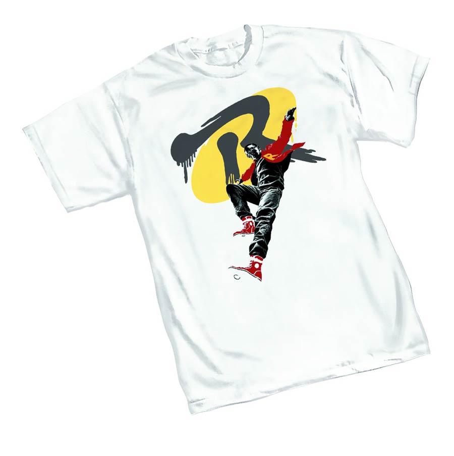 DC You Robin Womens T-Shirt Large