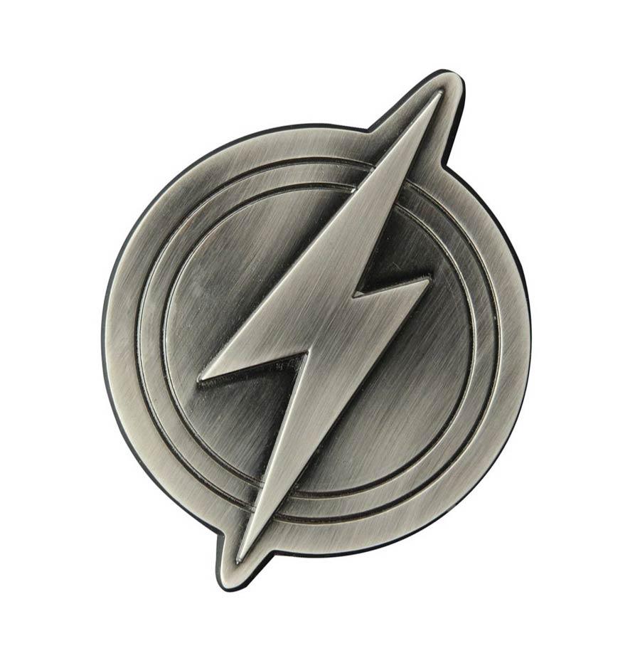 Justice League Flash Logo Metal Bottle Opener