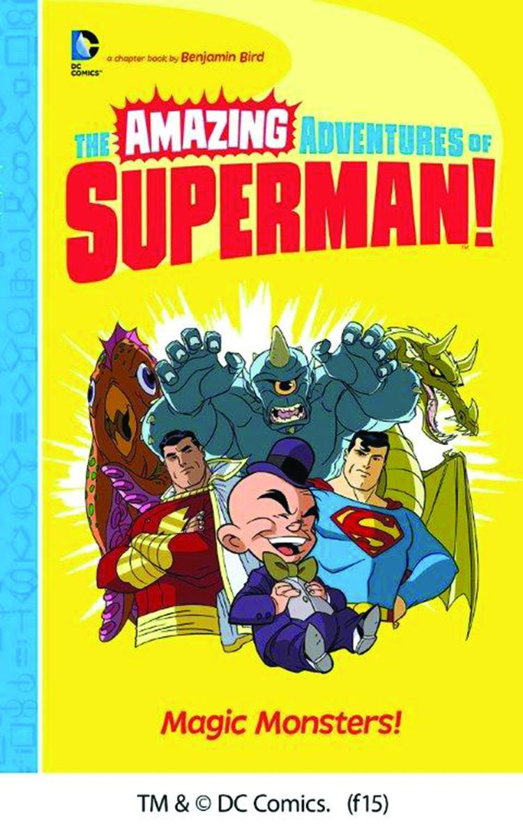 Amazing Adventures Of Superman Magic Monsters TP