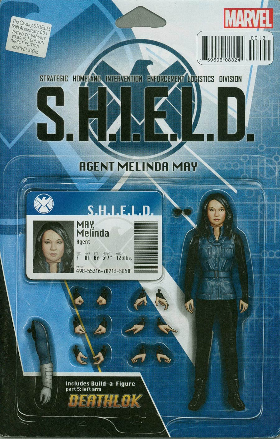 Cavalry S.H.I.E.L.D. 50th Anniversary #1 Cover C Variant John Tyler Christopher Action Figure Cover