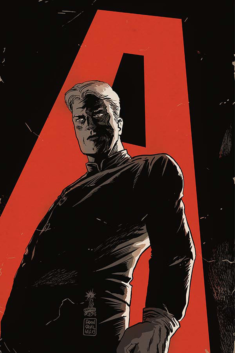 Justice Inc The Avenger #4 Cover B Incentive Francesco Francavilla Virgin Cover