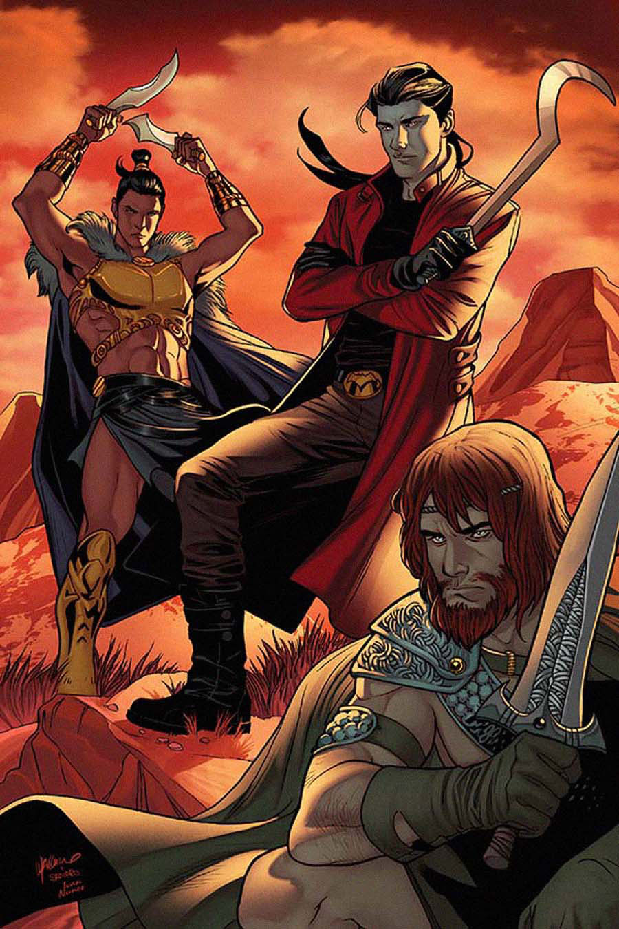 Swords Of Sorrow #5 Cover F Rare Emanuela Lupacchino Virgin Cover