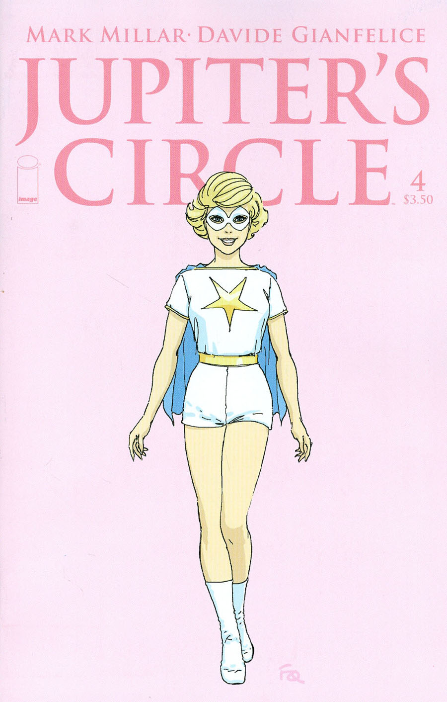 Jupiters Circle #4 Cover B Variant Frank Quitely Character Design Cover