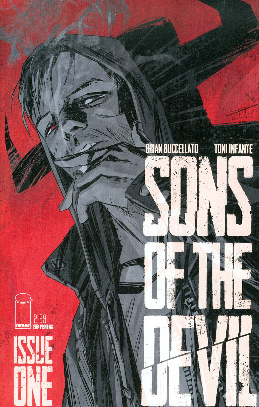 Sons Of The Devil #1 Cover D 2nd Ptg Toni Infante Variant Cover