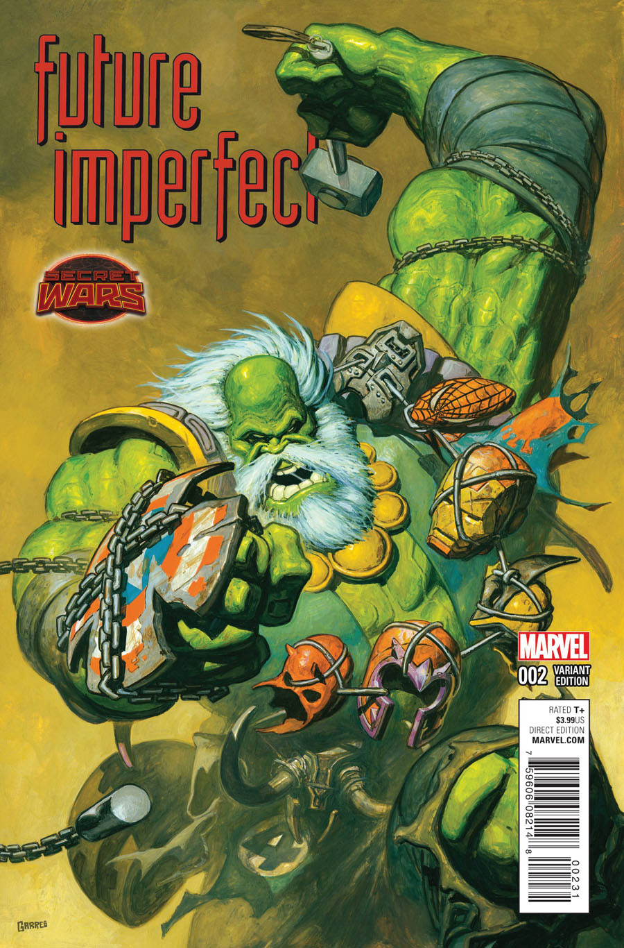 Future Imperfect #2 Cover B Incentive Variant Cover (Secret Wars Warzones Tie-In)