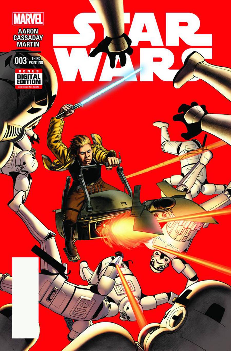 Star Wars Vol 4 #3 Cover F 3rd Ptg John Cassaday Variant Cover