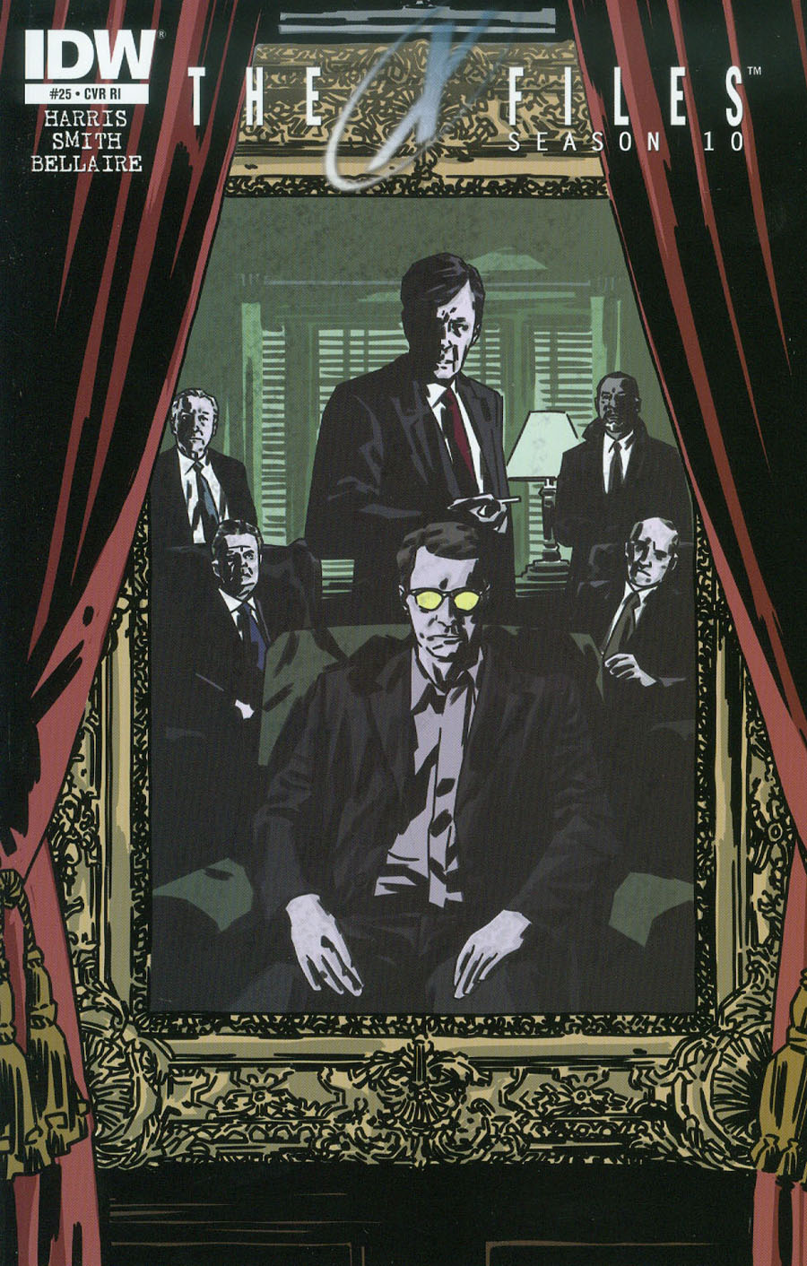 X-Files Season 10 #25 Cover C Incentive Matthew Dow Smith Variant Cover