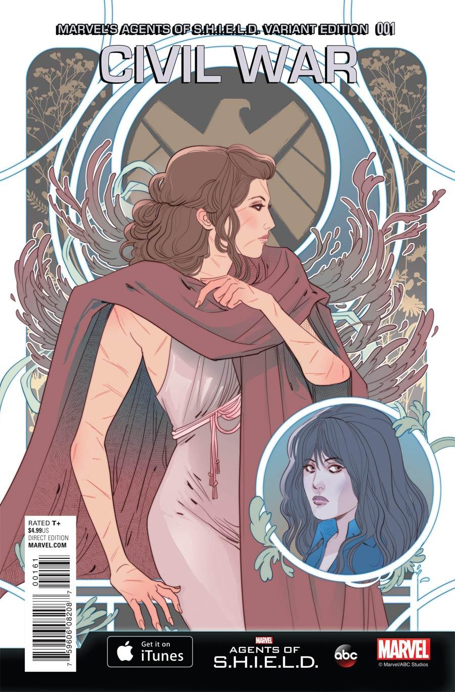 Civil War (Secret Wars) #1 Cover D Incentive Marvels Agents Of S.H.I.E.L.D. Variant Cover (Secret Wars Warzones Tie-In)