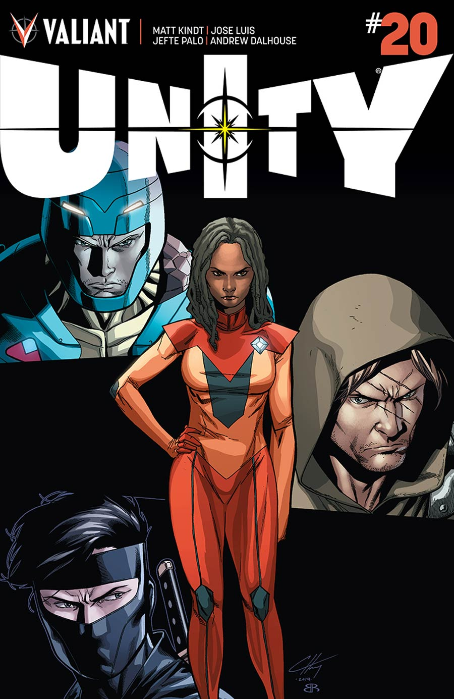 Unity Vol 2 #20 Cover B Incentive Clayton Henry Variant Cover