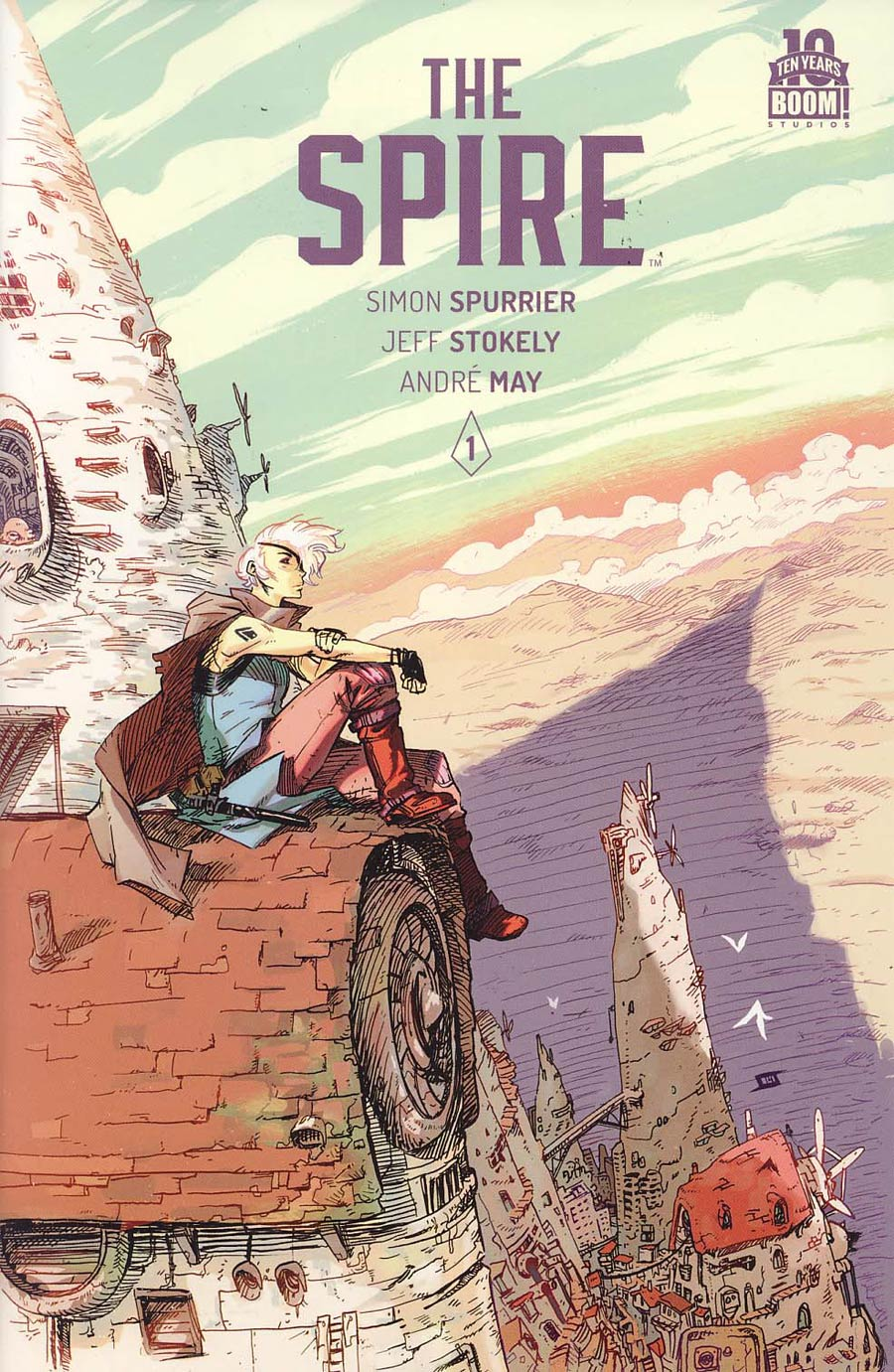 Spire #1 Cover A 1st Ptg Regular Jeff Stokely Cover
