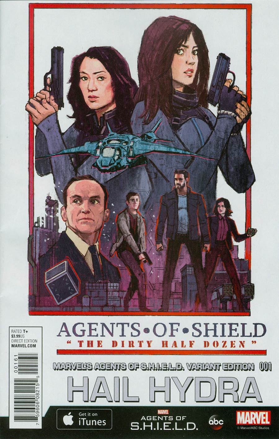 Hail Hydra #1 Cover C Incentive Marvels Agents Of S.H.I.E.L.D. Variant Cover (Secret Wars Warzones Tie-In)