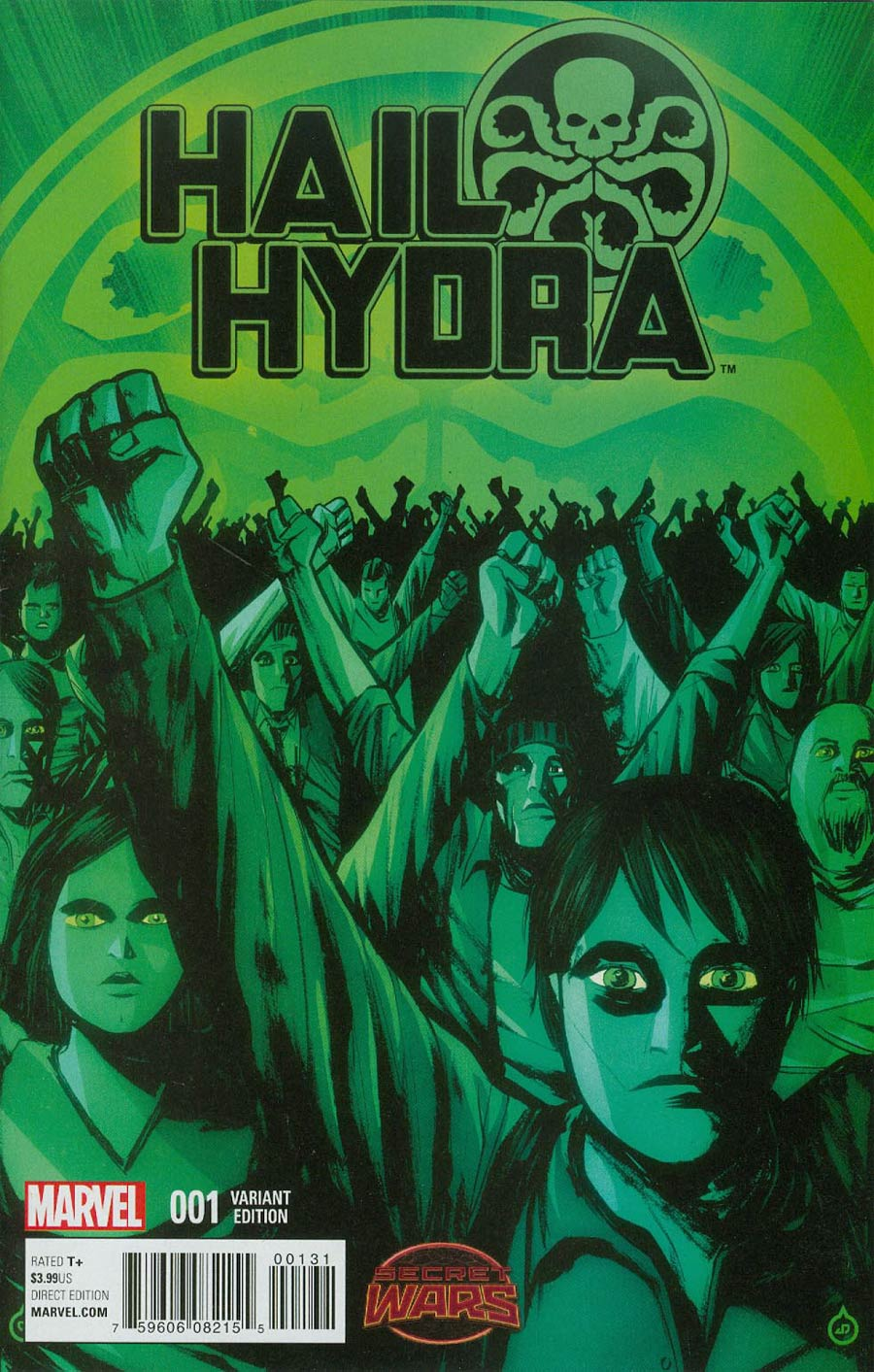Hail Hydra #1 Cover E Incentive Juan Doe Variant Cover (Secret Wars Warzones Tie-In)