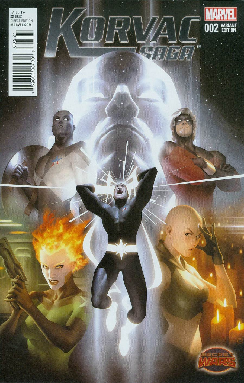 Korvac Saga #2 Cover B Incentive Variant Cover (Secret Wars Warzones Tie-In)