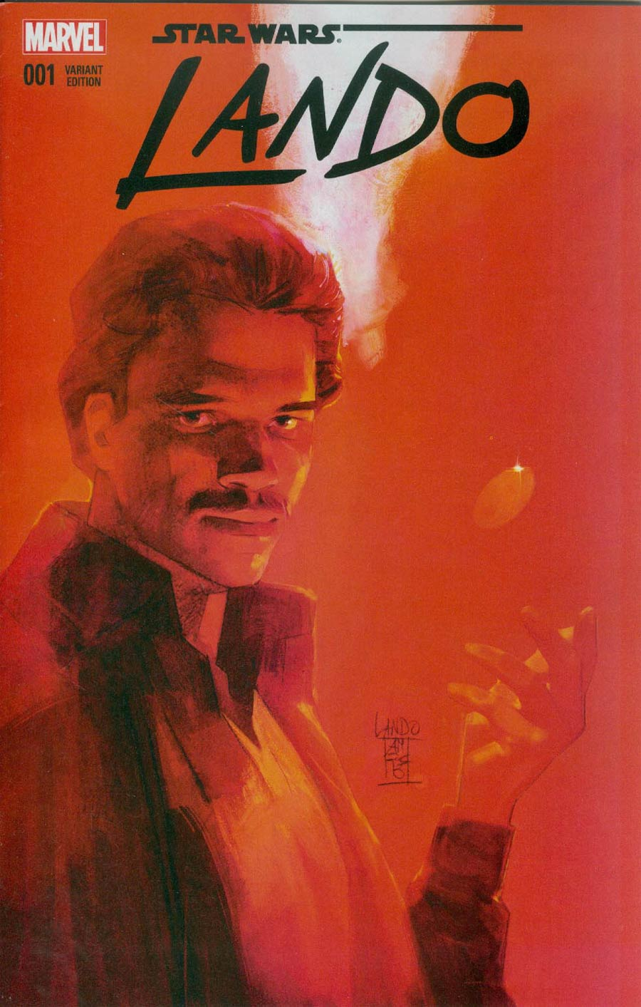 Star Wars Lando #1 Cover K Creator Exclusive Variant Cover