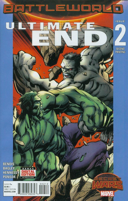 Ultimate End #2 Cover C 2nd Ptg Mark Bagley Variant Cover (Secret Wars Battleworld Tie-In)