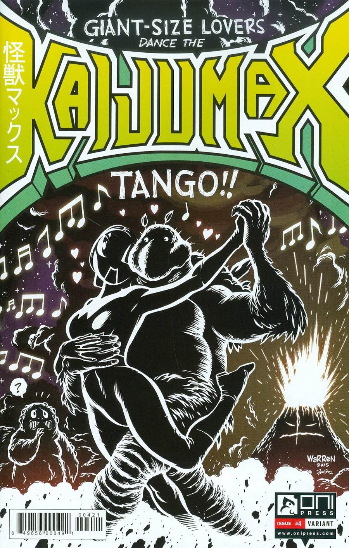 Kaijumax #4 Cover B Variant Adam Warren Cover