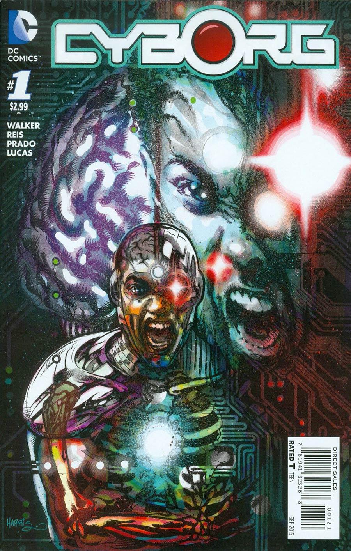 Cyborg #1 Cover B Incentive Tony Harris Variant Cover