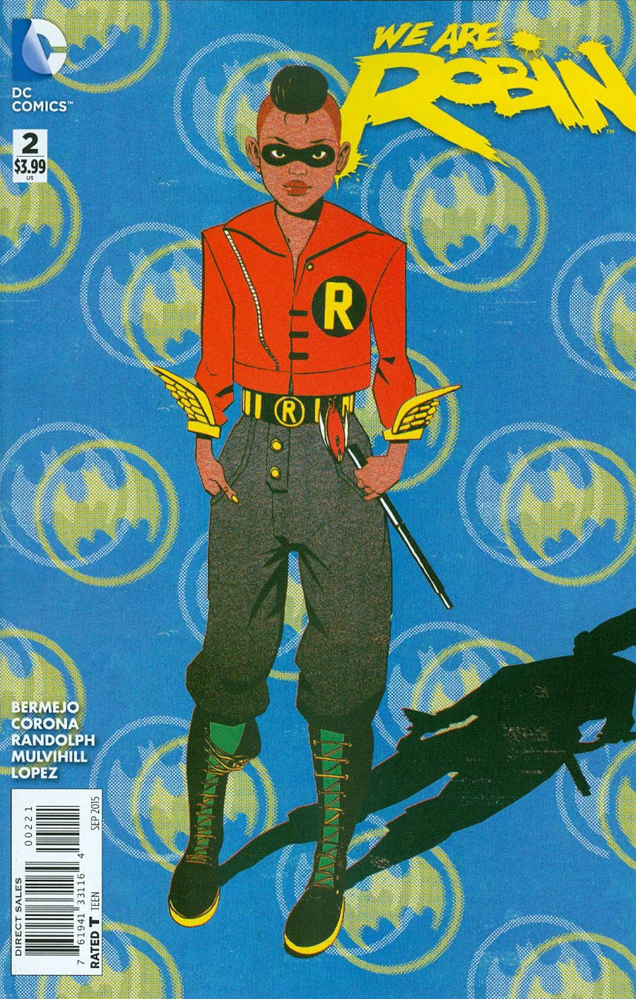 We Are Robin #2 Cover B Incentive James Harvey Variant Cover
